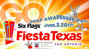 How Much Is A Six Flags Ticket At The Gate Deaf Day At Six Flags Fiesta Texas 6 3 17 U2013 San Antonio U2013 Deaf