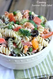 creamy summer pasta salad tastes better from scratch