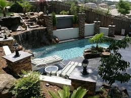 Small Backyard Gardens by Triyae Com U003d Backyard Pool Ideas Landscaping Various Design