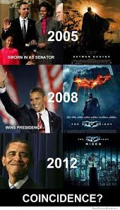 The Dark Knight Rises Meme - obama and the dark knight coincidence weknowmemes memes
