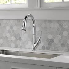 delta white kitchen faucet kitchen beautiful garden hose fittings delta leland faucet delta