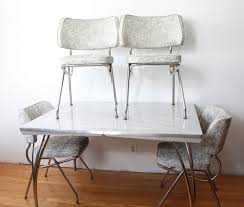 dining room alluring retro kitchen table and chairs four grey