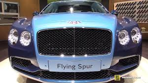 2017 bentley flying spur 2018 bentley flying spur mulliner exterior and interior