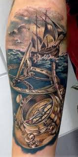 Nautical Map Tattoo 12 Best 30 Ship Tattoos Images On Pinterest Ship Tattoos