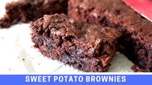 gluten free recipe sweet potato u0026 courgette zucchini brownies no