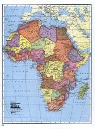 Map Of Africa Countries Maps Of Africa And African Countries Political Maps