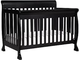 Black Convertible Crib Davinci Kalani 4 In 1 Convertible Crib With Toddler Rail