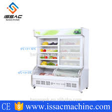economic and efficient commercial glass door refrigerator with