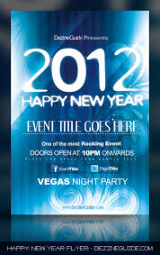 download free happy new year flyer poster template dezineguide