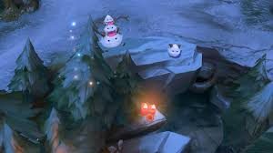 Summoners Rift Map Winter Summoner U0027s Rift Up For Testing On The Pbe