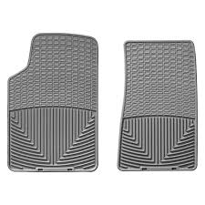 cadillac cts all weather floor mats weathertech w47gr series grey front all weather floor mats