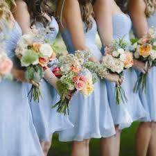 wedding flowers blue blue wedding bouquets