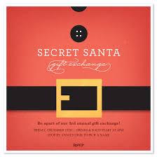 E Card Designer Secret Santa Belt Invitations U0026 Cards On Pingg Com