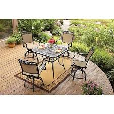 Patio Dining Sets Walmart Better Homes And Gardens Paxton Place 5 High Patio Dining