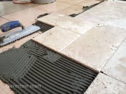 Installing Travertine Tile Diy Travertine Installation Techniques