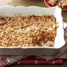 selune cuisine two layered apple crisp recipe taste of home