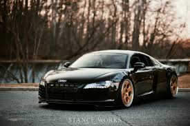 audi r8 blacked out on to the next one michael morelli u0027s audi r8 stanceworks