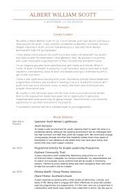 Sample Fitness Resume by Youth Worker Resume Samples Visualcv Resume Samples Database