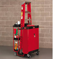 rubbermaid service cart with cabinet rubbermaid ladder carts