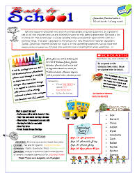 awesome pre k newsletter template pikpaknews