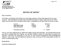 stonehill news notice of intent to cancel allied waste services