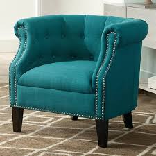 Teal Accent Chair Neve Heirloom Teal Tufted Accent Chair 1w841 Ls Plus