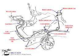 c2 corvette parts 1967 corvette front brake lines parts parts accessories for