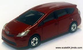 tomica toyota prius 2017 toyota prius alpha model cars hobbydb