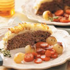 meat loaf with potato crust recipe taste of home