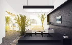 black open plan bathroom interior design ideas open shower