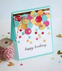 creative and beautiful handmade birthday card images
