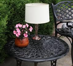 Patio Table Lights Sunbrella Outdoor Table Ls Outdoor Table Top Ls Plus Ls