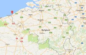 map belguim where is de panne on map belgium world easy guides