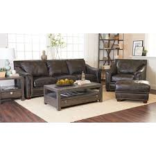 Leather Blend Sofa Klaussner Waldon Leather Blend 3 Set Gray Sam S Club