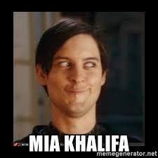 Meme Generator En Espaã Ol - mia khalifa tobey maguire meme generator