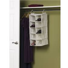 amazon com household essentials 311344 10 pocket hanging shoe