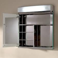 lighted medicine cabinet mirror delview stainless steel medicine cabinet with lighted mirror