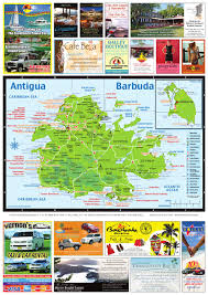 Antigua Map Antigua Barbuda Map 2013 By Ken Shipley Issuu