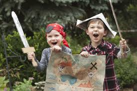 outdoor treasure hunt for kids with clues for you