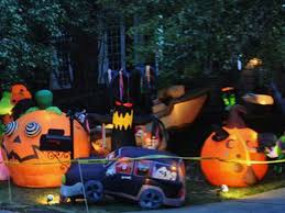 halloween blowups buckhead house is like the mecca of halloween inflatables curbed