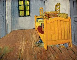 van gogh bedroom painting tidying up art ursus wehrli deconstructs famous paintings