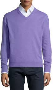 purple sweater neiman v neck sweater light purple where to buy