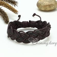 leather bracelet fashion images Woven leather bracelet jpg