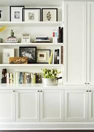 White Open Bookcase White Bookshelf With Doors Foter