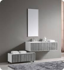 High Gloss Bathroom Vanity Fresca Fvn8513ha 52 Wall Mount High Gloss Modern Bathroom Vanity