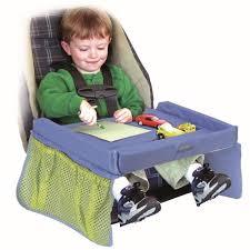 tablette pour siege auto babysun nusery tablette de voyage bleu achat vente organiseur de