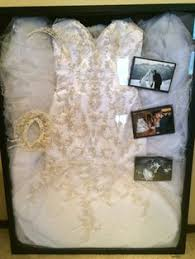 wedding dress shadow box display and protect your cherished wedding dress antique