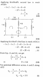 important questions for class 12 physics cbse kirchhoffs laws and