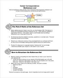 How To List References In Resume Format For Resume References Resume Cv Cover Lettersample