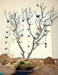 origami bird branch wedding centerpieces budget brides guide a